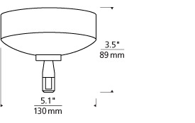 MonoRail Surface Transformer-60W El LED Line Art